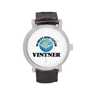 World's Most Clever Vintner Wrist Watch