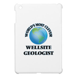 World's Most Clever Wellsite Geologist iPad Mini Cover