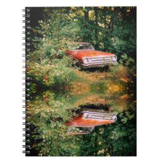 World's Most Haunted Car - The Goldeneagle - 1964 Spiral Note Books