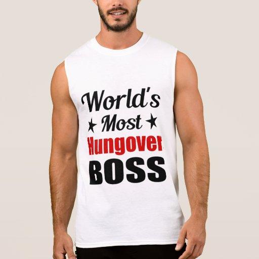 World's Most Hungover Boss Men's Sleeveless Tee