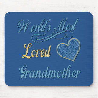 World's Most Loved Grandmother Mouse Mat