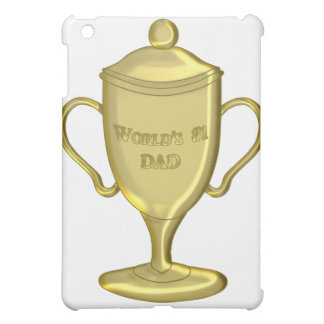World's Number One Dad Championship Trophy iPad Mini Cases