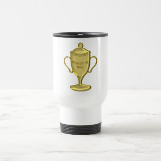 World's Number One Dad Championship Trophy Coffee Mugs