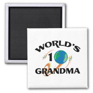 World's Number One Grandma Refrigerator Magnet