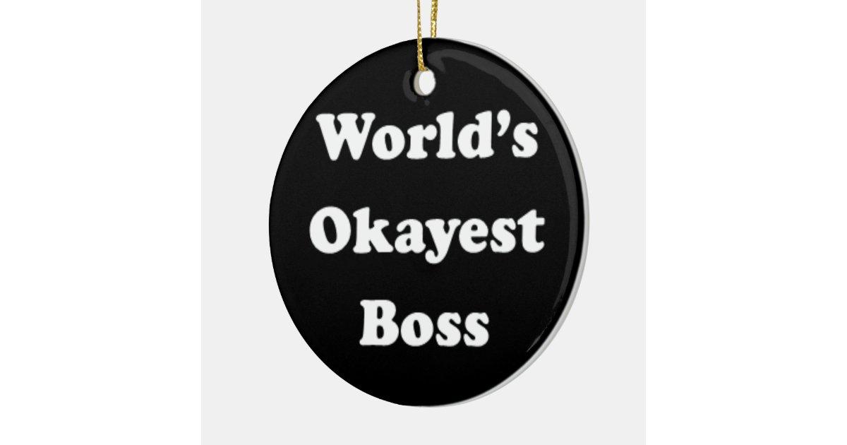 Round work boss
