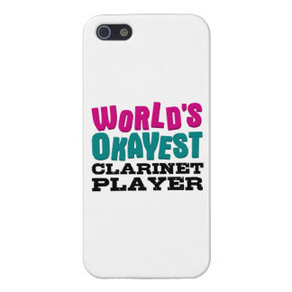 World's Okayest Clarinet Player Cases For iPhone 5