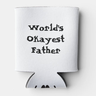World's Okayest  Dad Can Cooler