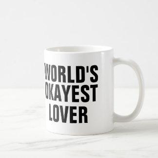 World's Okayest Lover Coffee Mug