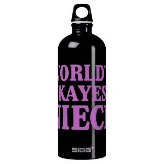 World's Okayest Niece SIGG Traveller 1.0L Water Bottle