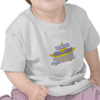 World's Okayest Radiologic Tech .. Joke Shirt
