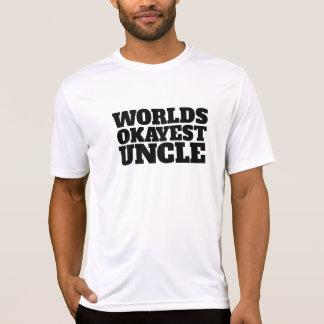 Worlds Okayest Uncle Shirts