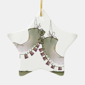 World's Oldest Football Boots Christmas Ornament