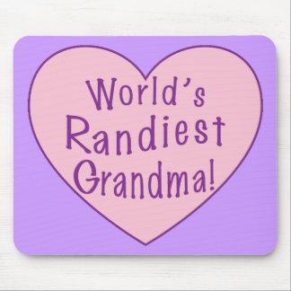 World's Randiest Grandma Mouse Pad