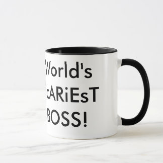 World's ScARiEsT BOSS! Mug