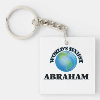 World's Sexiest Abraham Square Acrylic Keychain