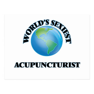 World's Sexiest Acupuncturist Post Cards
