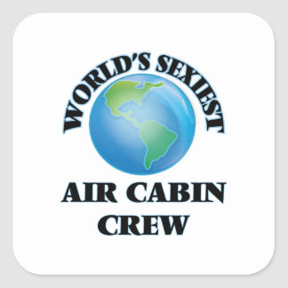 World's Sexiest Air Cabin Crew Stickers