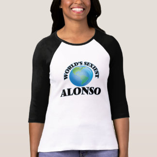 World's Sexiest Alonso Tee Shirts