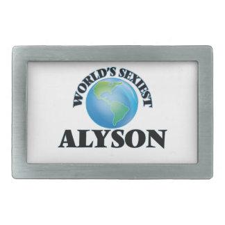 World's Sexiest Alyson Belt Buckles