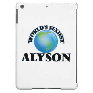 World's Sexiest Alyson Cover For iPad Air