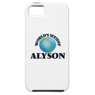 World's Sexiest Alyson iPhone 5/5S Case