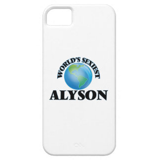 World's Sexiest Alyson iPhone 5/5S Cases