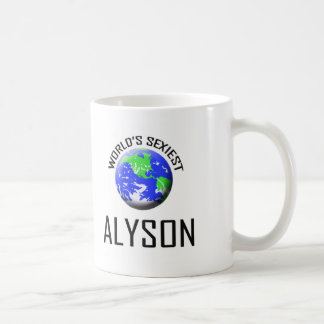 World's Sexiest Alyson Coffee Mug