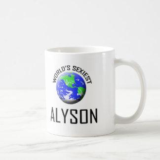 World's Sexiest Alyson Mugs
