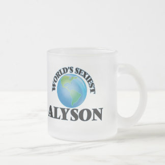 World's Sexiest Alyson Coffee Mugs