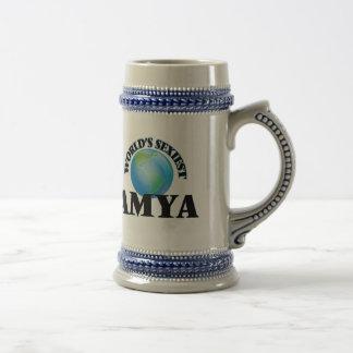 World's Sexiest Amya Coffee Mugs