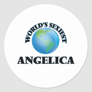 World's Sexiest Angelica Stickers
