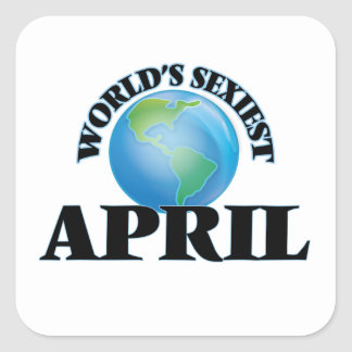 World's Sexiest April Stickers