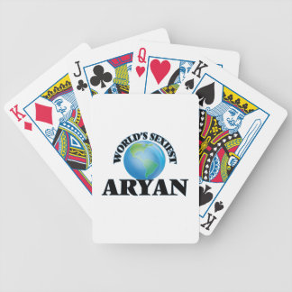 World's Sexiest Aryan Bicycle Playing Cards