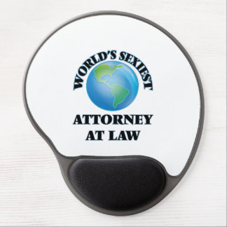 World's Sexiest Attorney At Law Gel Mouse Pads