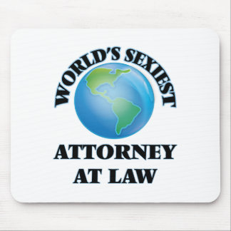 World's Sexiest Attorney At Law Mousepad