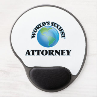 World's Sexiest Attorney Gel Mouse Mats