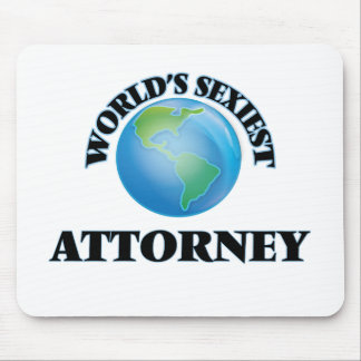 World's Sexiest Attorney Mousepads