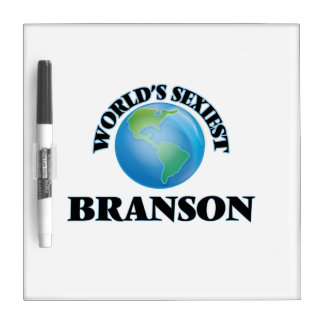 World's Sexiest Branson Dry Erase Board