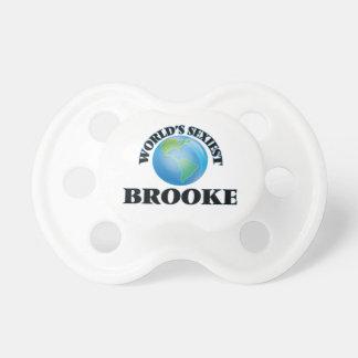 World's Sexiest Brooke BooginHead Pacifier