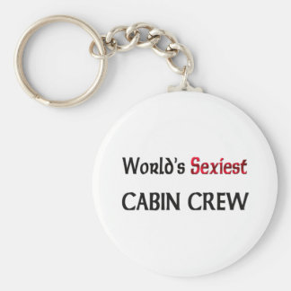 World's Sexiest Cabin Crew Key Ring
