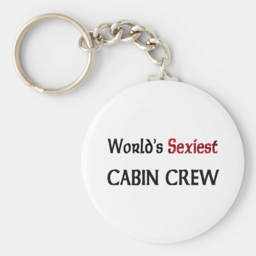 World's Sexiest Cabin Crew Key Chain