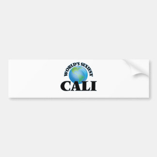 World's Sexiest Cali Bumper Stickers