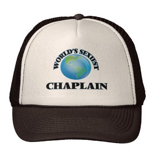 World's Sexiest Chaplain Trucker Hats