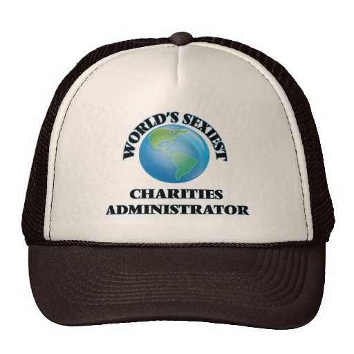 World's Sexiest Charities Administrator Hats