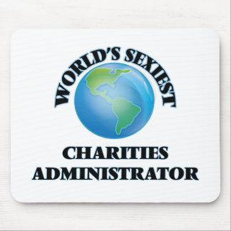 World's Sexiest Charities Administrator Mousepads