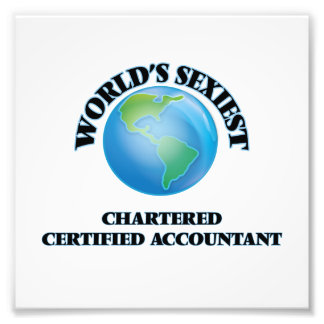World's Sexiest Chartered Certified Accountant Photo
