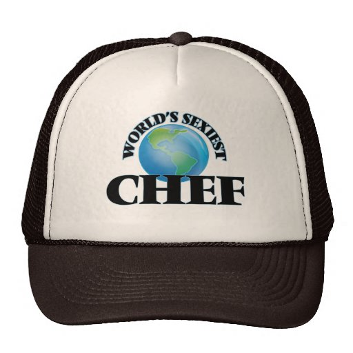 World's Sexiest Chef Mesh Hats