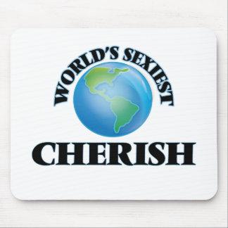 World's Sexiest Cherish Mouse Pad
