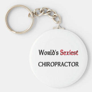 World's Sexiest Chiropractor Key Ring