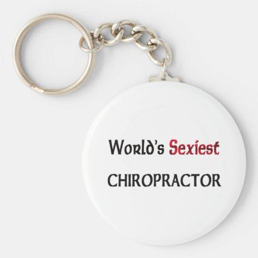World's Sexiest Chiropractor Keychains